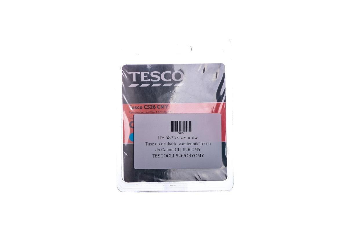 Remanufactured Ink cartridge Tesco Canon CLI-526 CMY