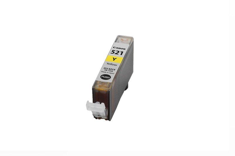 Genuine Ink Cartridge Canon CLI-521Y Yellow