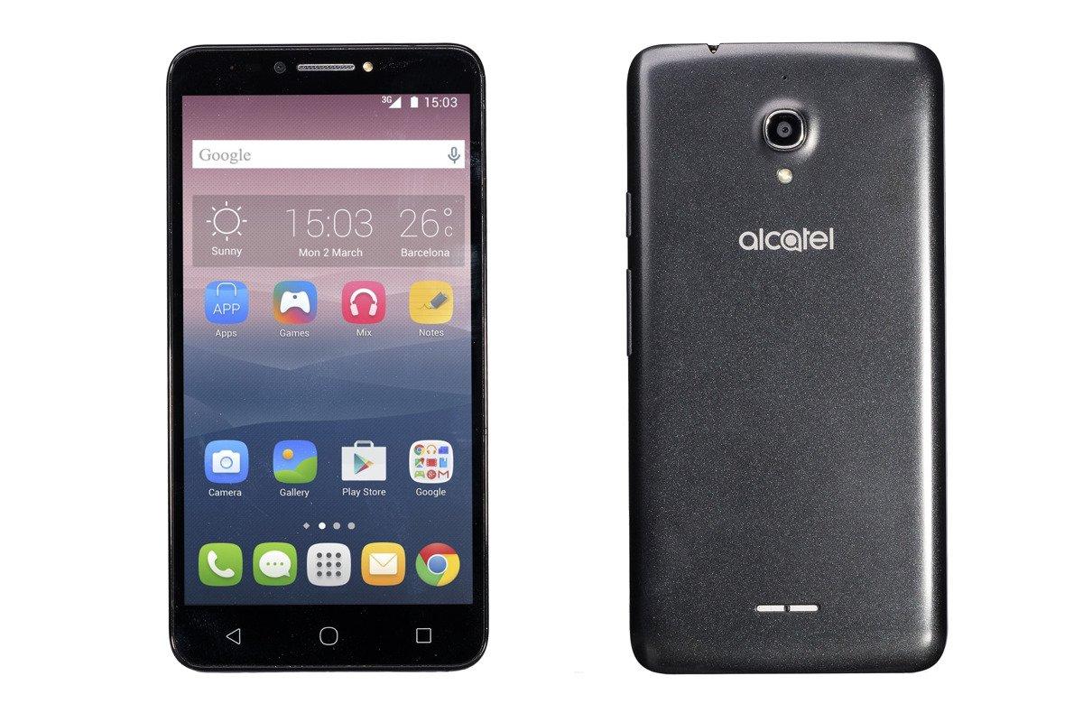 Alcatel Pixi 4 4G 16GB Volcano Black 9001X Grade C Ersatzbox