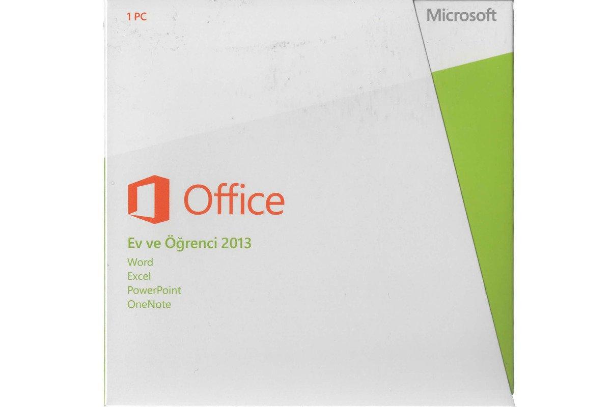 Echte neue Microsoft Office Home and Student 2013 79G-03759 Türkisch Naher Osten Em DVD