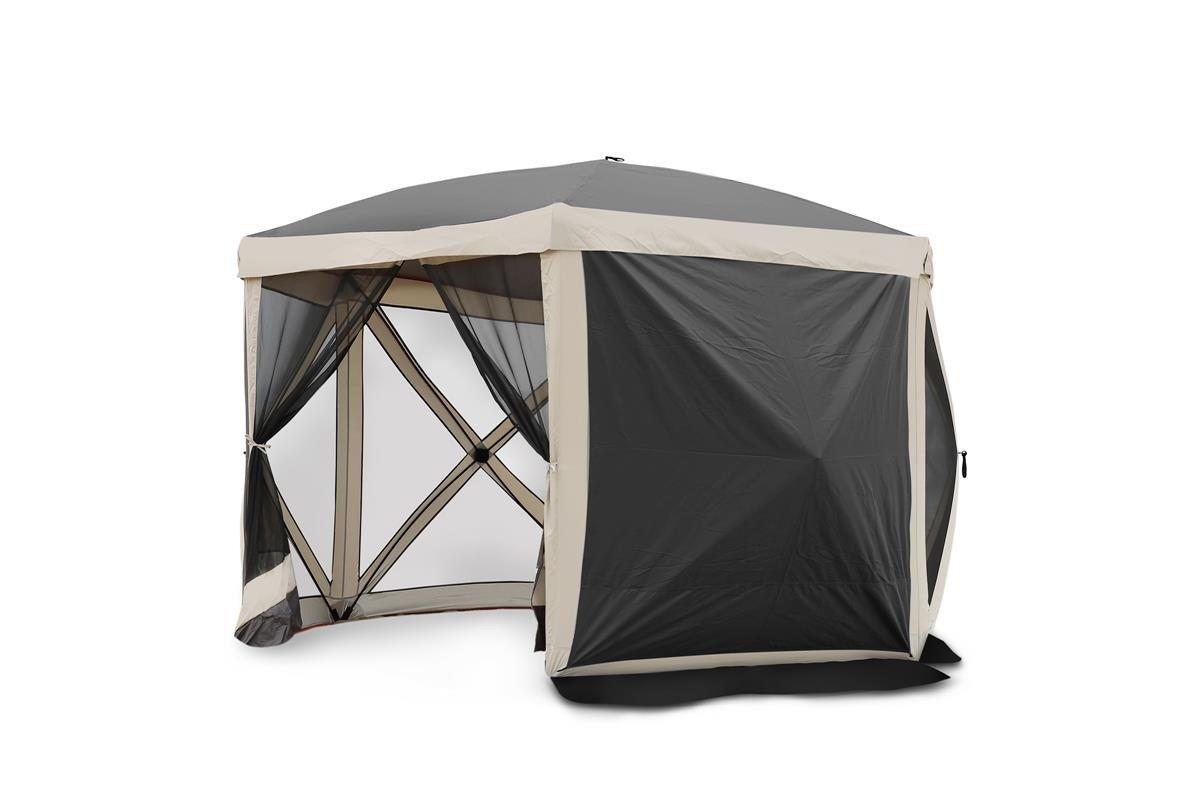 Gartenzelt Pavillon Moskitonetz All Camp Pop-up Dunkelgrau L APL-T5006