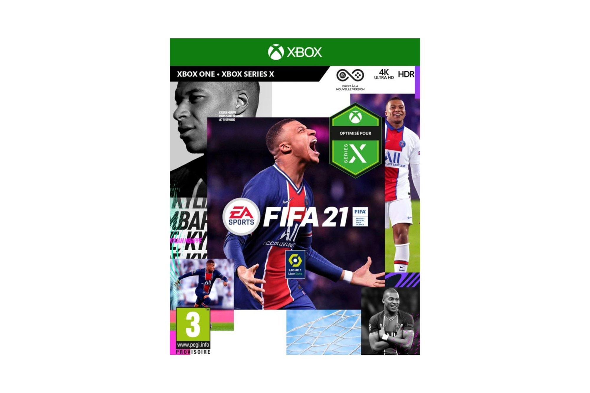 Neu OVP EA FIFA 21 - Xbox One / Series X - FIFA 2021 Box