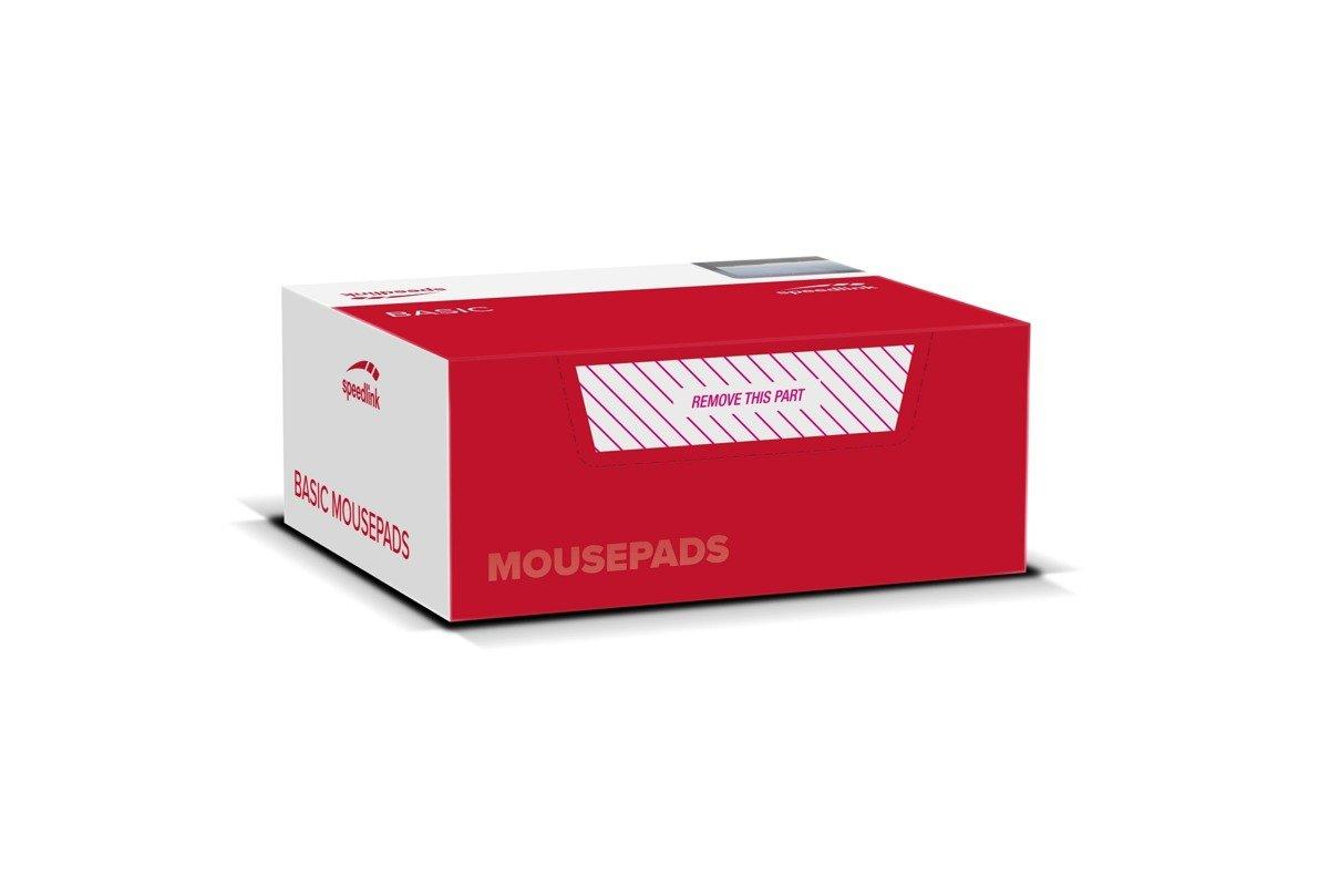 Neu OVP Set 20x Speedlink Soft Foam Mauspad Schwarz Black Pad