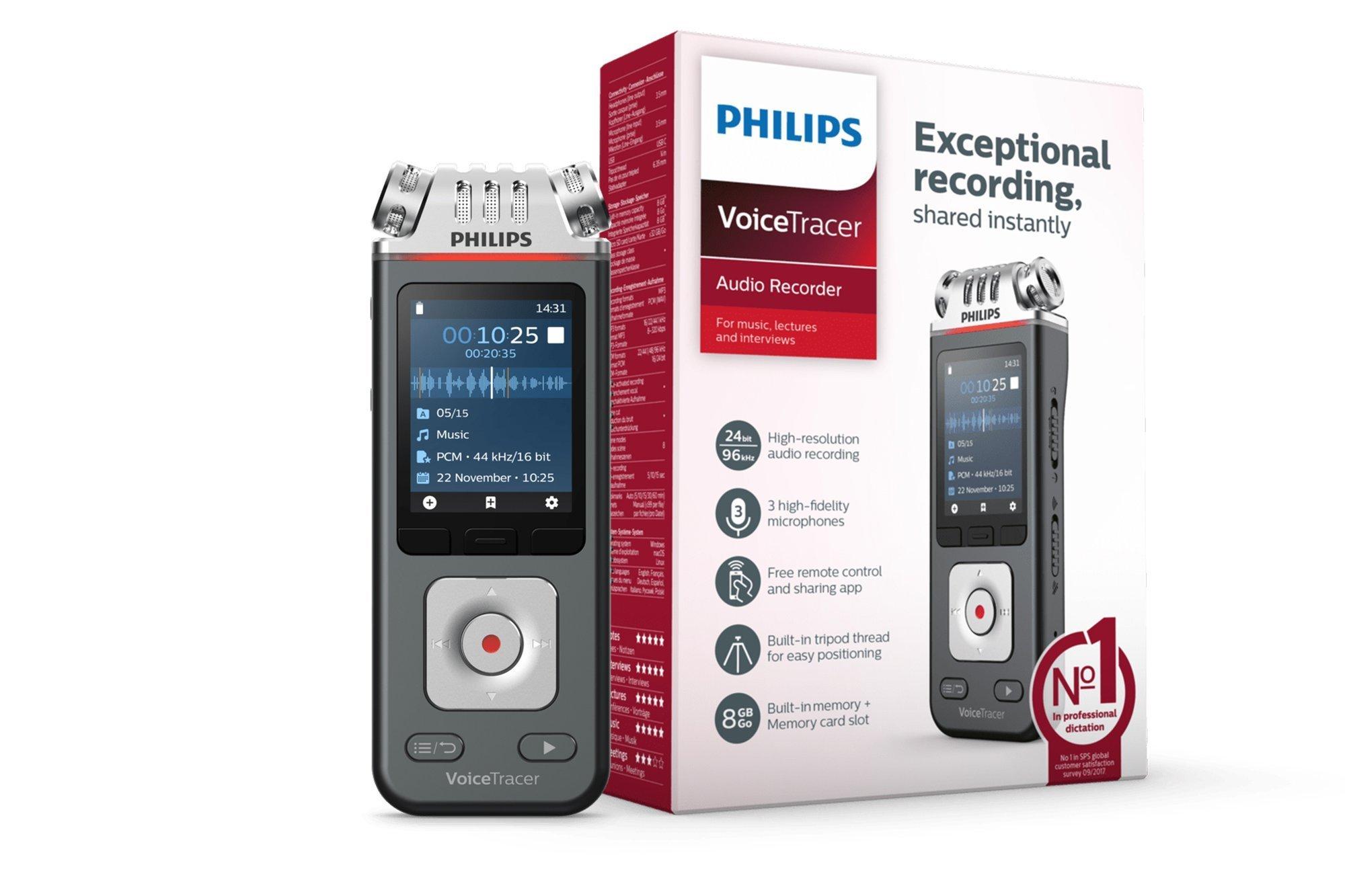 Philips VoiceTracer Audiorecorder DVT6110