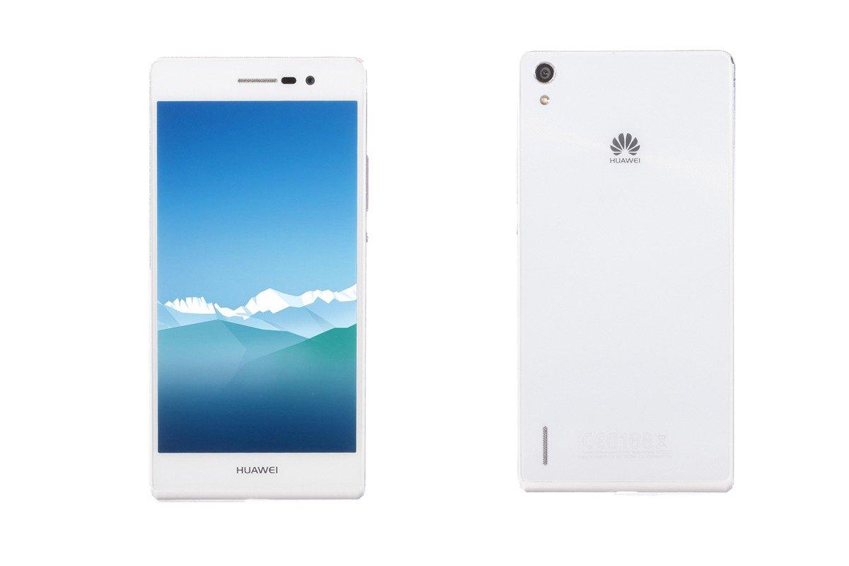 Smartphone Huawei Ascend P7 16GB P7-L10 White DAMAGED / BESCHÄDIGT