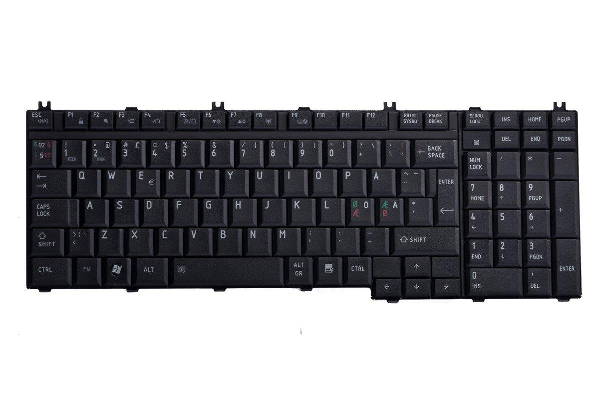 Tastatur Toshiba MP-06876DN-920 (Norwegisch)