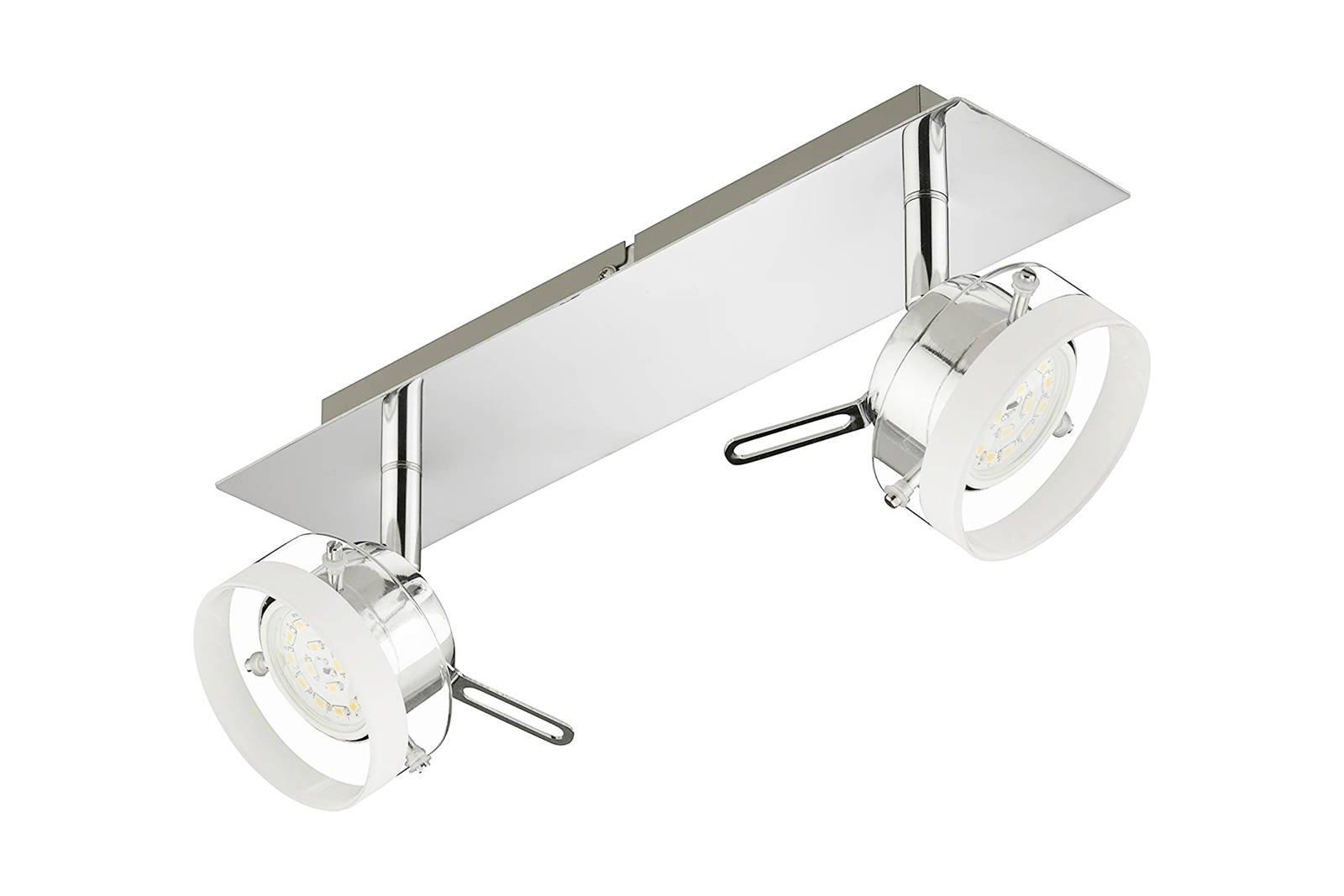 Deckenleuchte Decken Briloner Klicken 2807-028 2x 5W LED