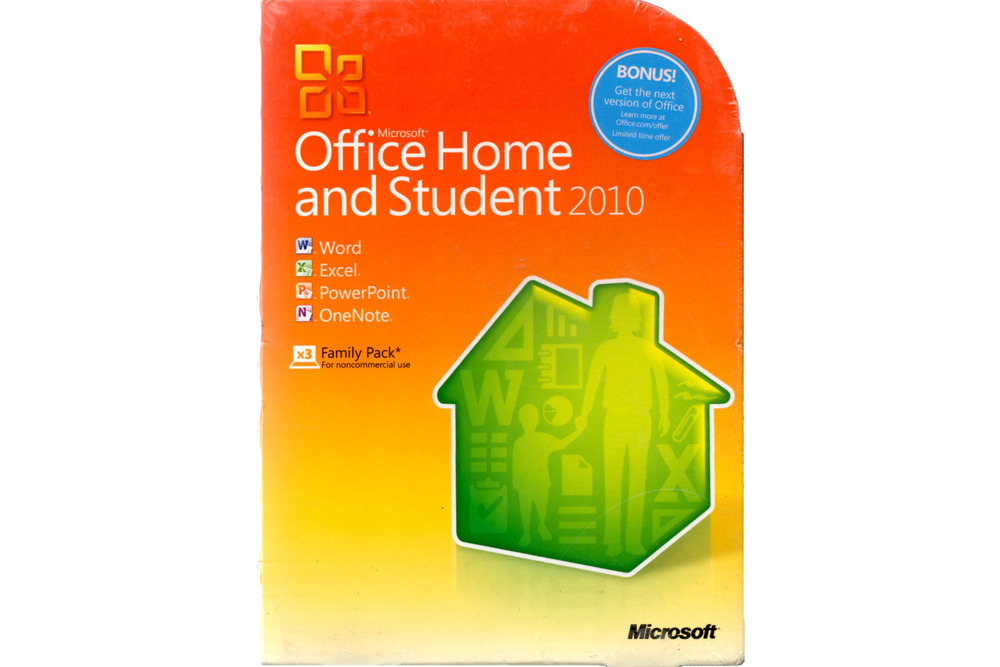 Echtes neues Microsoft Office Home and Student 2010 DVD 79G-02086 Nicht-EU / EFTA