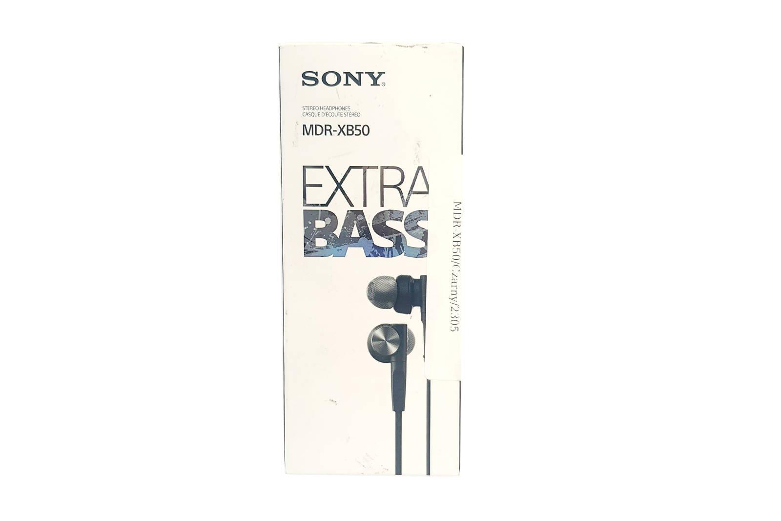In-Ear Kopfhörer  Sony MDR-XB50 Schwarz
