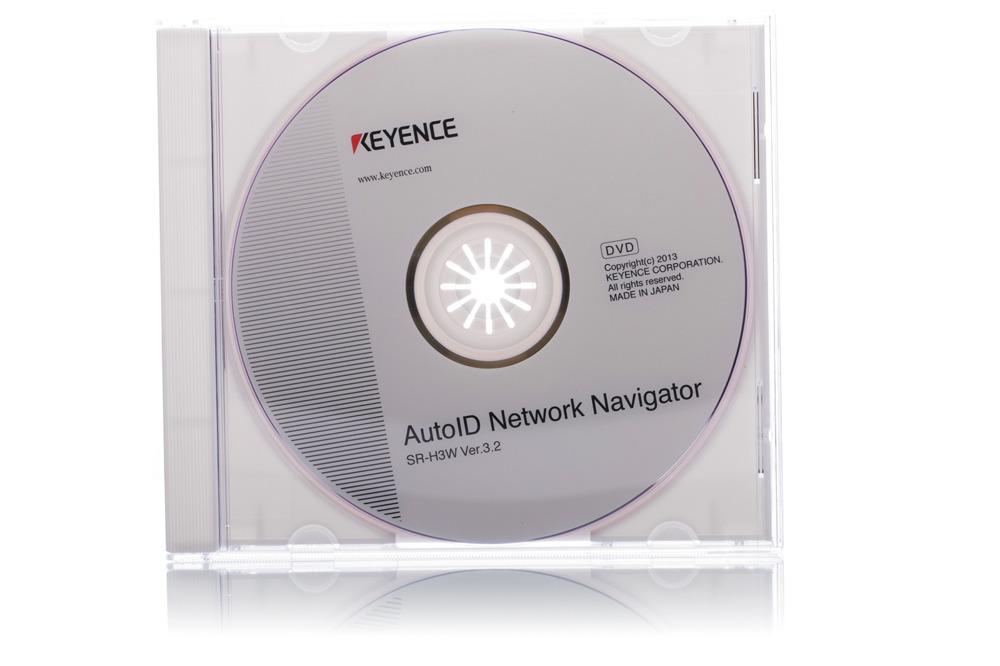 Keyence-Einstellungssoftware SR-H3W CD Ver. 3.2