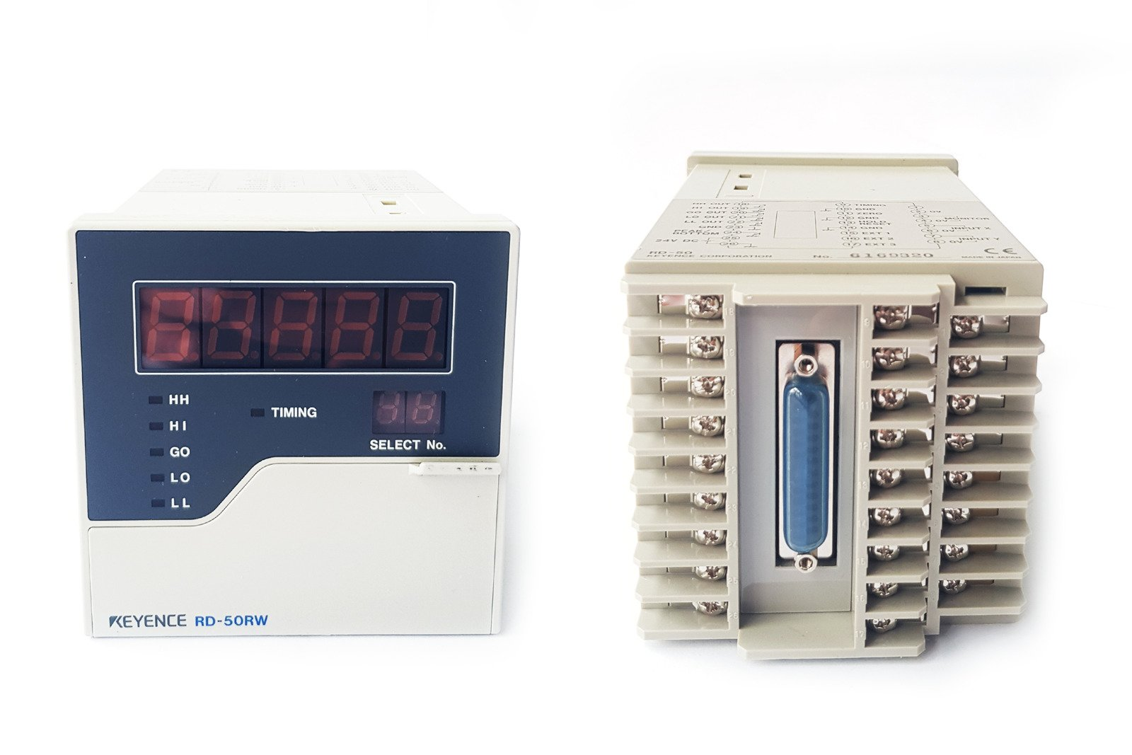 Keyence Hauptgerät des Analogsensor-Controllers, Typ RS-232C - RD-50RW