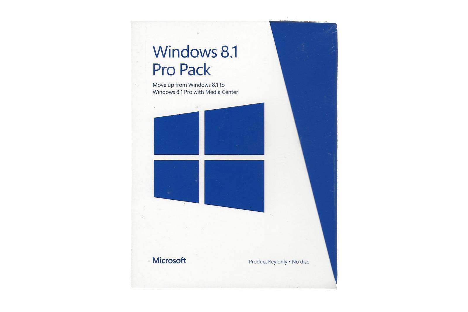 Neu OVP Windows Professional-Pack 8.1 5VR-00140 Internationale PUP Medialess