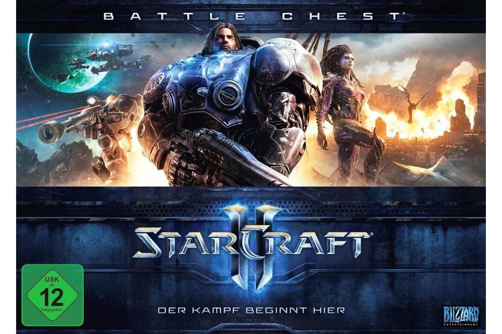 Starcraft II 2 Battlechest PC Neu OVP