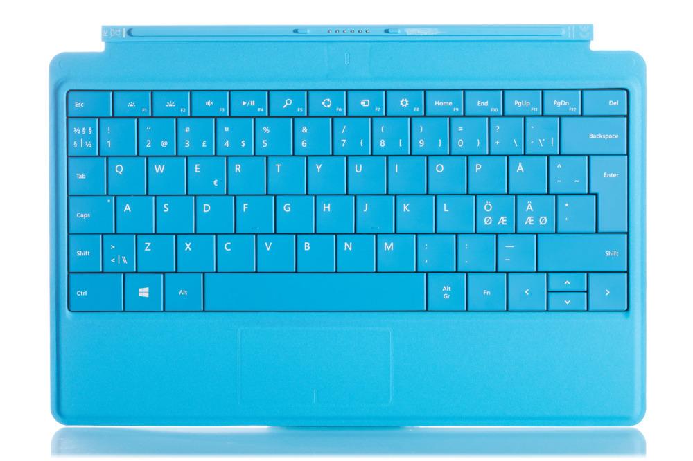 Tastatur Surface Type Cover 2 Cyan Grade A (nordisch)