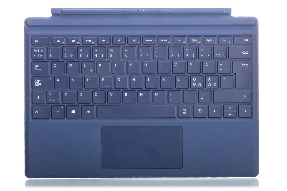 Tastatur Surface Type Cover Pro 4 Dunkelblau Grade B (nordisch)