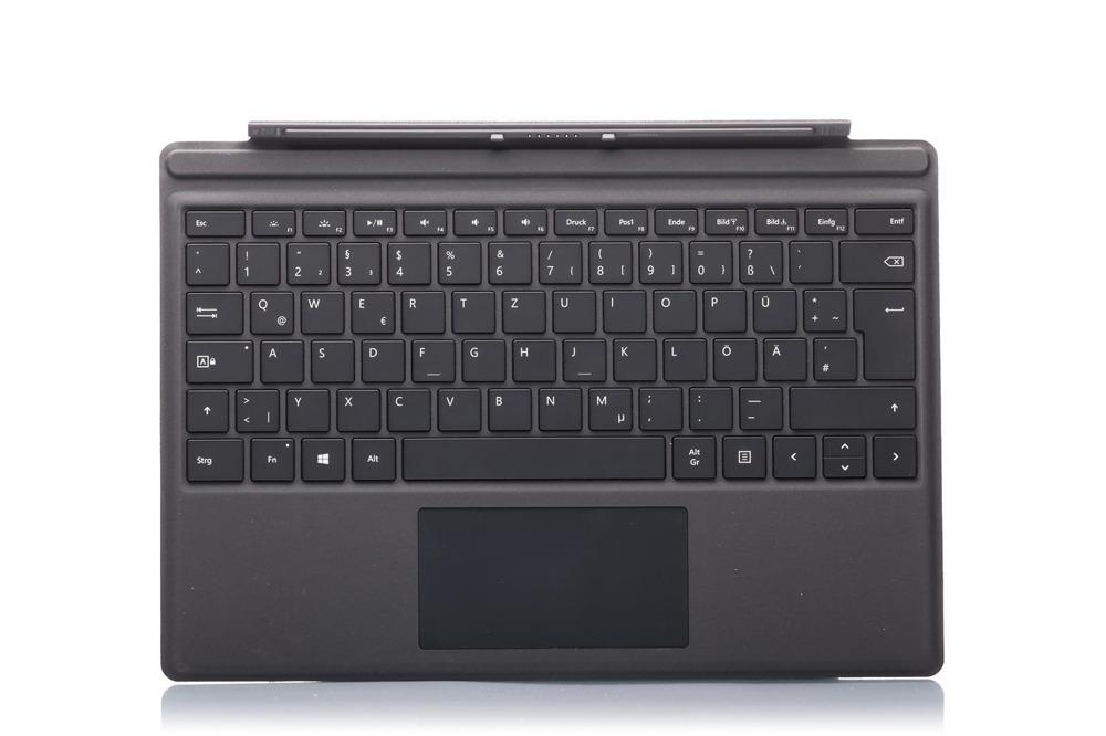 Tastatur Surface Type Cover Pro 4 Schwarz Grade A (deutsche)