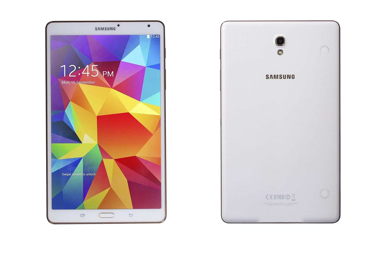 Tablet Galaxy Tab S 16GB WiFi Dazzling White Grade C